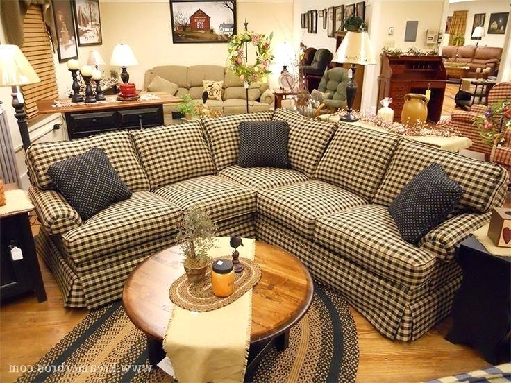 Fashionable Saving Couches With Primitive Couch Covers Inside Country Sofas And Chairs (View 8 of 10)