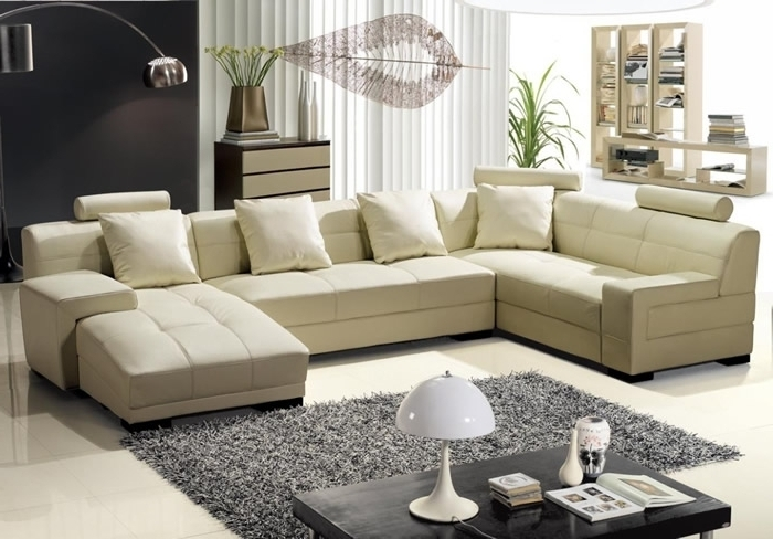 Fashionable U Shaped Sectional Sofas Throughout Living Room Design Best U Shaped Sectional Sofas Part I U Shaped (View 4 of 10)