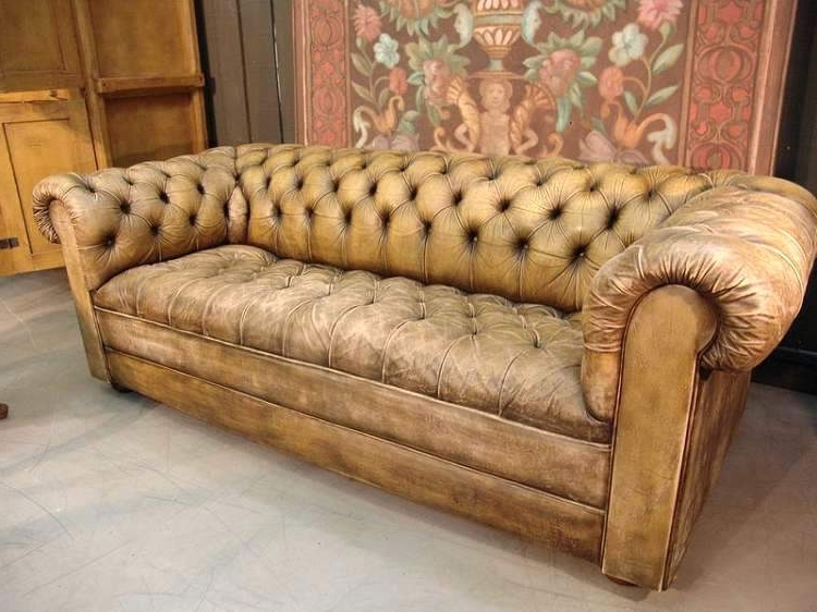 Fashionable Vintage Chesterfield Sofas For Elegant Vintage Chesterfield Leather Sofa Ideas – Gradfly (View 3 of 10)
