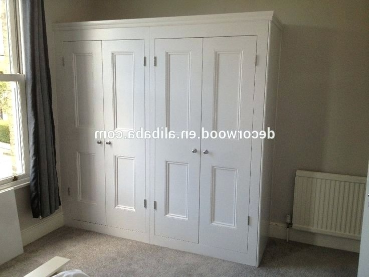 Fashionable Wardrobes ~ White Solid Wooden Wardrobe White Wardrobe Solid Wood With White Wooden Wardrobes (View 6 of 15)
