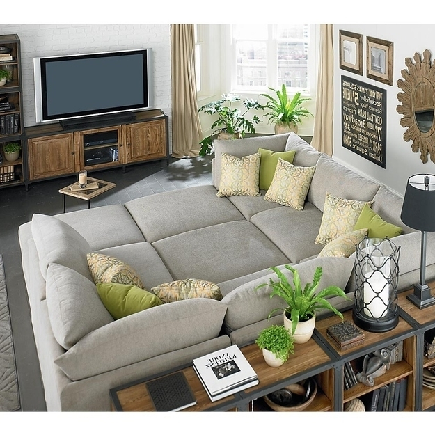 Fashionable Wonderful Living Rooms Deep Seated Couch Deep Cushion Sofa Giant Inside Deep Cushion Sofas (View 7 of 10)