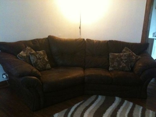 Faux Suede Sofas Pertaining To Best And Newest Best Of The Range Corner Sofa – Mediasupload (View 8 of 10)