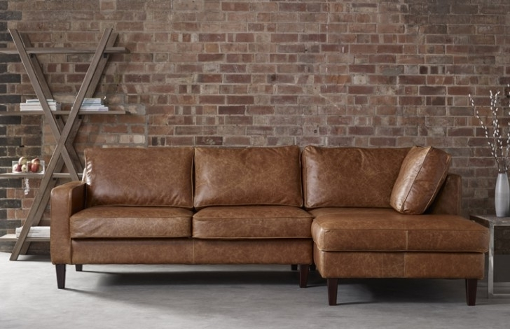 Favorite Appealing Leather Chaise Sofa Chaise Sofa – Interiorvues Inside Chaise Sofas (View 7 of 15)
