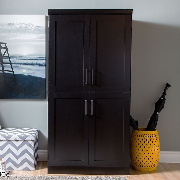 Favorite Black Wood Wardrobes For 10 Best Wardrobes Images On Pinterest (View 14 of 15)