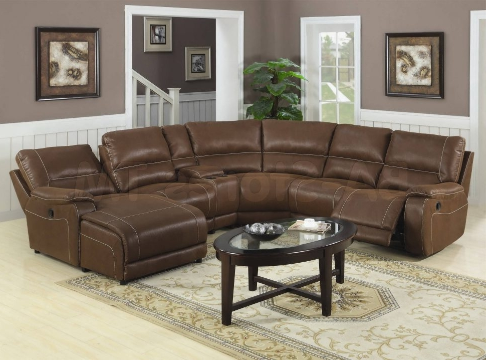 Favorite Brown Sectionals With Chaise With Regard To Sofa : Leather Sectional Sofa Large Sectional Red Sectional Sofa (View 6 of 15)