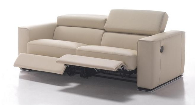 Favorite Charming Modern Leather Sofa Recliner Modern Reclining Sofa Stoney Regarding Modern Reclining Leather Sofas (View 2 of 10)
