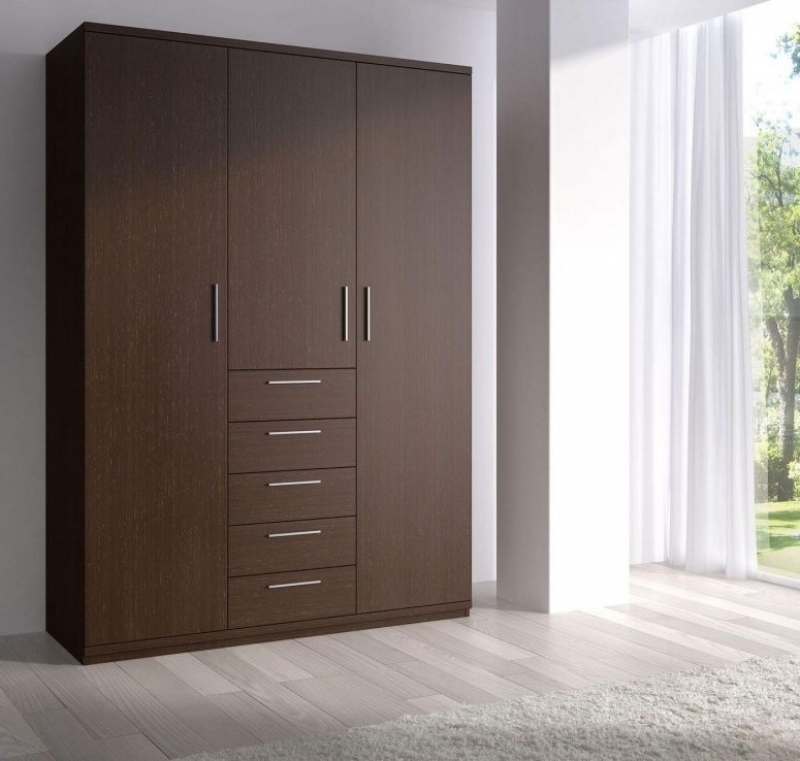 Favorite Double Wardrobes Pertaining To Double Wardrobes With Sliding Doors Wardrobe Designs For Small (View 9 of 15)