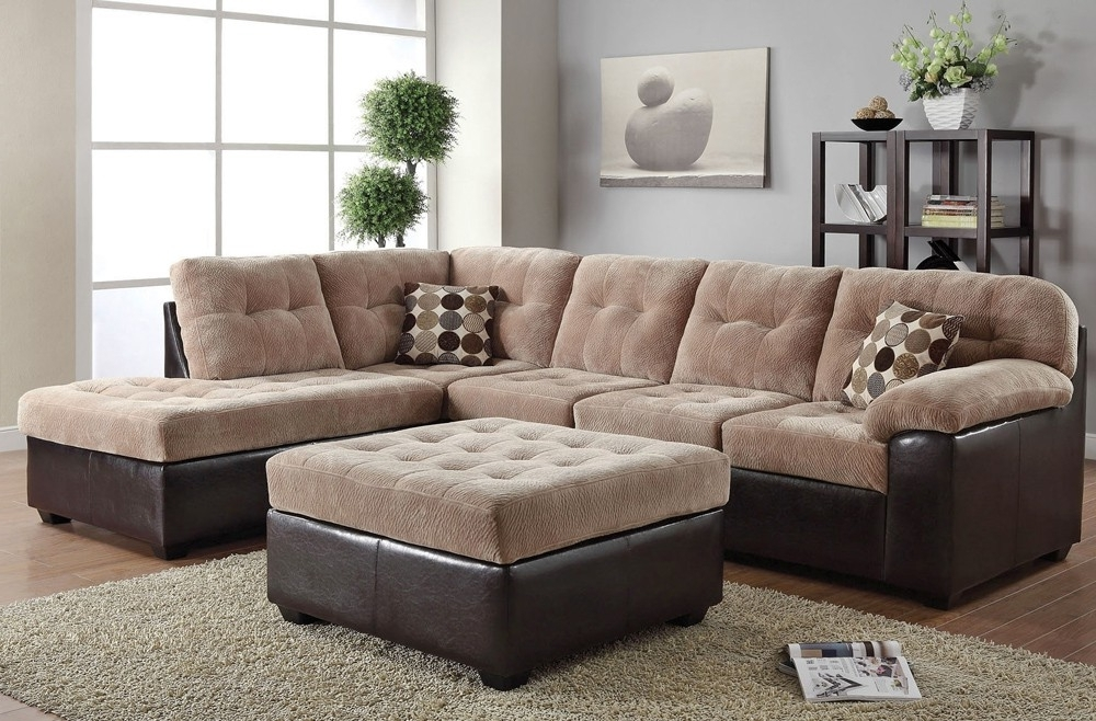 Favorite Fabric Sectional Sofas With Regard To Sectional Sofa Design: Cloth Sectional Sofas Best Ever White Cloth (View 7 of 10)
