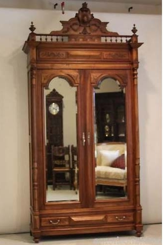 Favorite French Wardrobes For Sale Intended For Towering Armoire Antique French Henry Ii Carved For Sale (View 9 of 15)