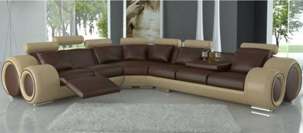 Favorite Gorgeous Top Grain Leather Sofa Recliner United El Dorado Throughout El Dorado Sectional Sofas (View 2 of 10)