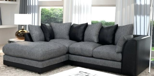 Favorite Grey Sectionals With Chaise Throughout Gray Sectional Couch Gray And Black Couch Gorgeous Grey Sectional (View 2 of 15)