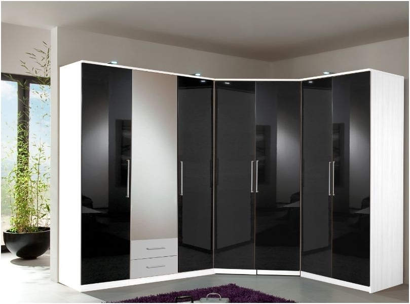 Favorite High Gloss Black Wardrobes Inside High Gloss Wardrobes (View 5 of 15)
