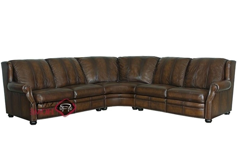 Favorite Jacksonville Nc Sectional Sofas Pertaining To Duke Power Reclining Leather True Sectional Sofa With Down Blend (View 2 of 10)