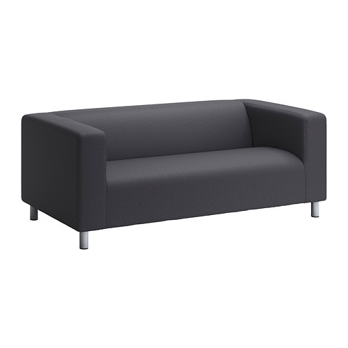 Favorite Klippan Two Seat Sofa – Vissle Grey – Ikea Inside Ikea Two Seater Sofas (View 3 of 10)