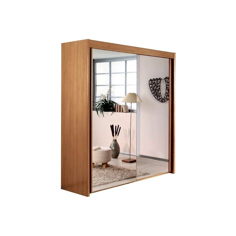Favorite Lima Ascot Imperial Full Mirrored 2 Sliding Door Wardrobe 201Cm With 2 Sliding Door Wardrobes (View 8 of 15)