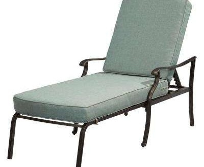 Favorite Metal Chaise Lounge Chairs Within Impressing Outdoor Chaise Lounges Patio Chairs The Home Depot Of (View 4 of 15)