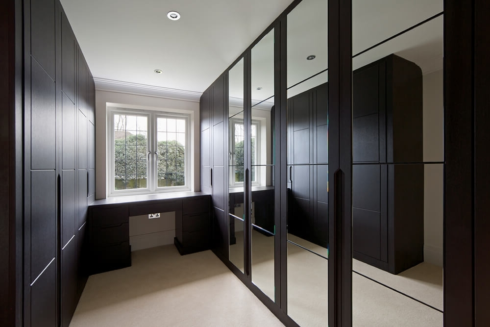 Favorite Mirrored Wardrobes With Mirrored Wardrobes In Lincoln – Robes & Rails (View 2 of 15)
