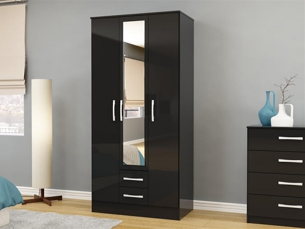 Favorite Modern Black Wardrobes (View 9 of 15)