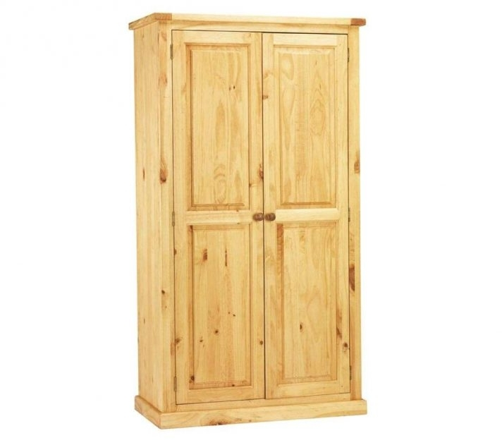 Favorite Natural Pine Wardrobes Throughout Solid Pine Wardrobe For Sale Bedroom Furniture Ebay Edinburgh (View 5 of 15)
