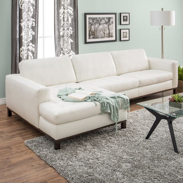 Favorite Off White Leather Sofas In Best Off White Leather Couch Pictures – Liltigertoo (View 5 of 10)