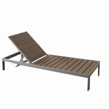 Favorite Outdoor Polywood Chaise Lounge With Aluminum Frame, Perfect For Intended For Aluminum Chaise Lounge Outdoor Chairs (View 7 of 15)
