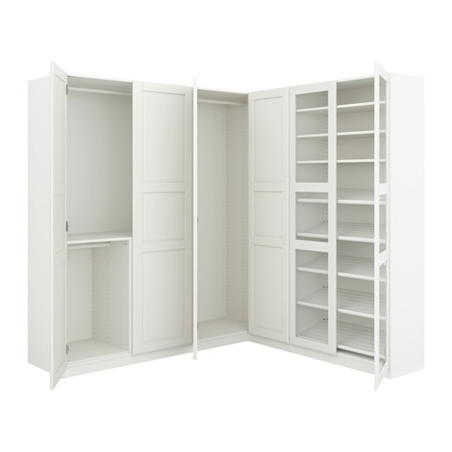 "Favorite Pax Corner Wardrobe – 82 3/4/73 7/8X93 1/8 "" – Ikea Within Corner Wardrobes (View 9 of 15)"