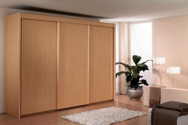 Favorite Rauch Imperial 3 Door Sliding Wardrobe 225Cm (View 4 of 15)