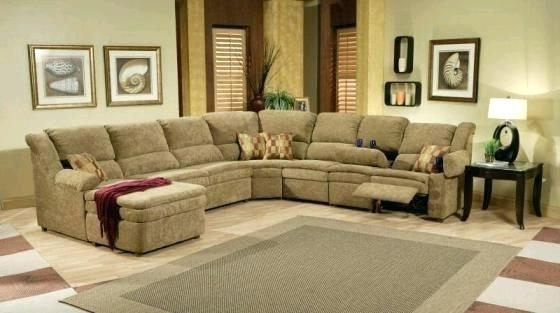 Favorite Reclining Sleeper Sofa Fountain Gray Reclining Sofa England Inside Reclining Sectionals With Chaise (View 4 of 15)