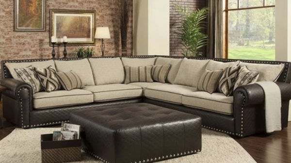 Favorite Sectional Includes 50x50 Ottoman New Many Colors To Choose From With Regard To Visalia Ca Sectional Sofas (View 9 of 10)