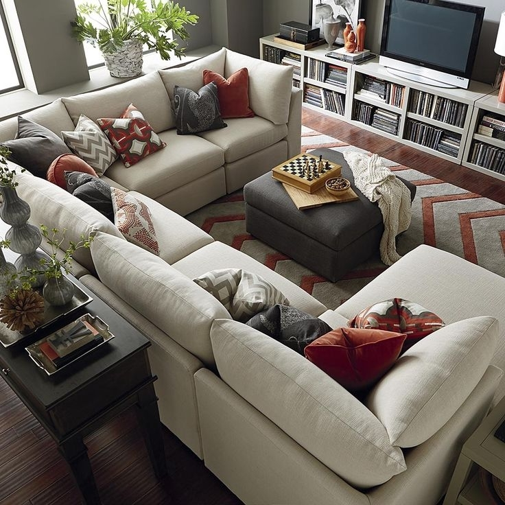 Favorite Sectional Sofa Design: U Shaped Sectional Sofas Groupings Chaise Regarding Vaughan Sectional Sofas (View 4 of 10)