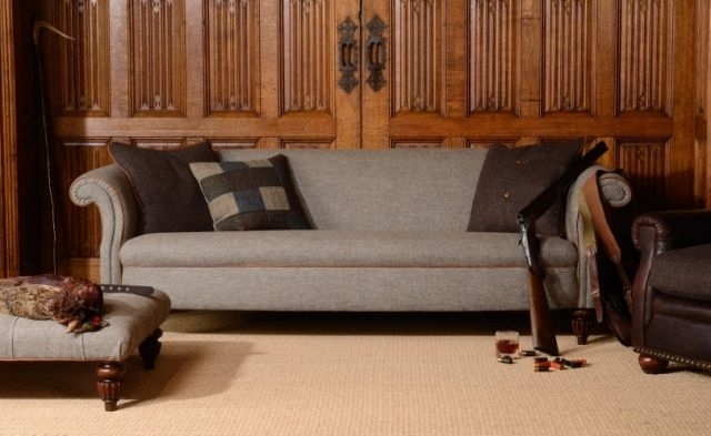 Favorite Tweed Fabric Sofas With Tetrad Harris Tweed Bowmore Midi Sofa – Sofas & Chairs – Fabric (View 2 of 10)