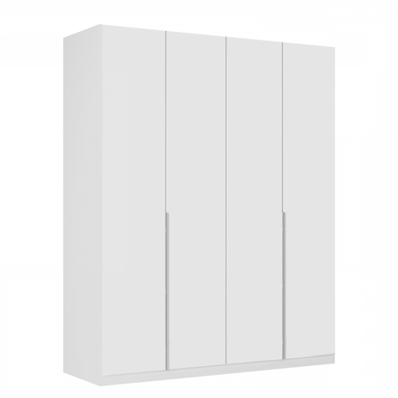 Favorite White Glass Front Doors On Wardrobes Free Standing Intended For 4 Door White Wardrobes (View 11 of 15)