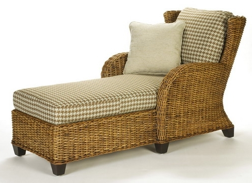 Favorite Wicker Outlet Wicker Chaise Lounge Indoor Clarissa Chaise Lounge Regarding Wicker Chaises (View 5 of 15)