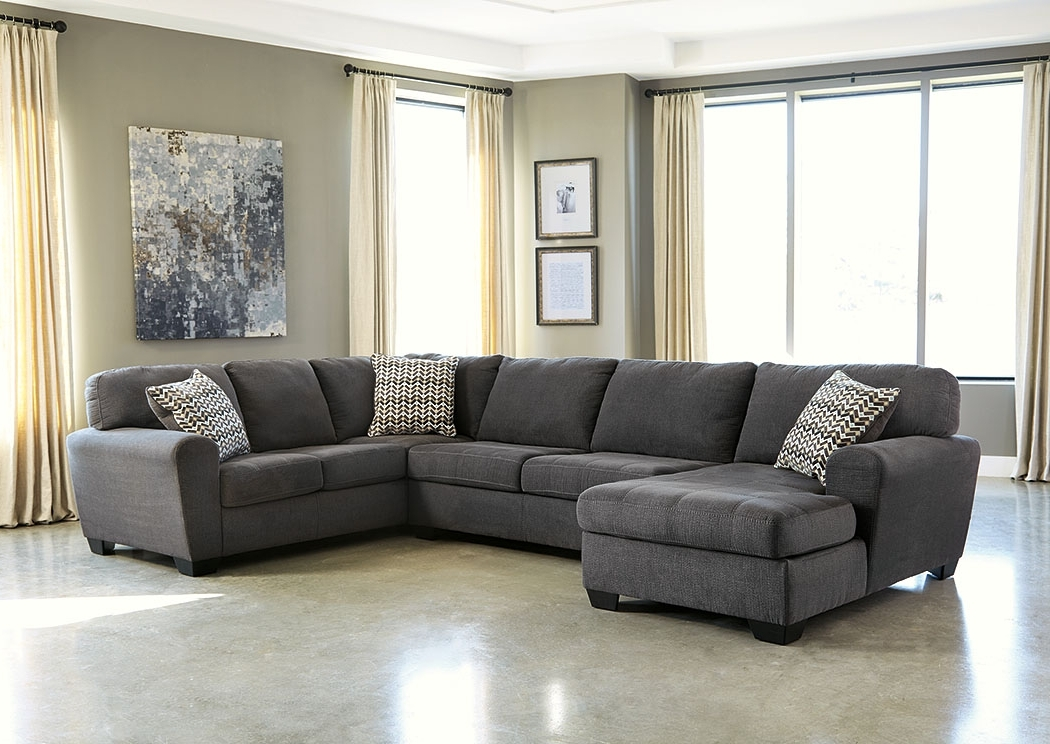 Favorite Wine Country Furniture Sorenton Slate Left Facing Chaise Sectional Throughout Right Facing Chaise Sectionals (View 4 of 15)