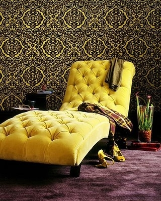 Favorite Yellow Chaise Lounge Chairs For Looks Like The Perfect Chaise To Com Ehome Tokick Off Your (View 5 of 15)