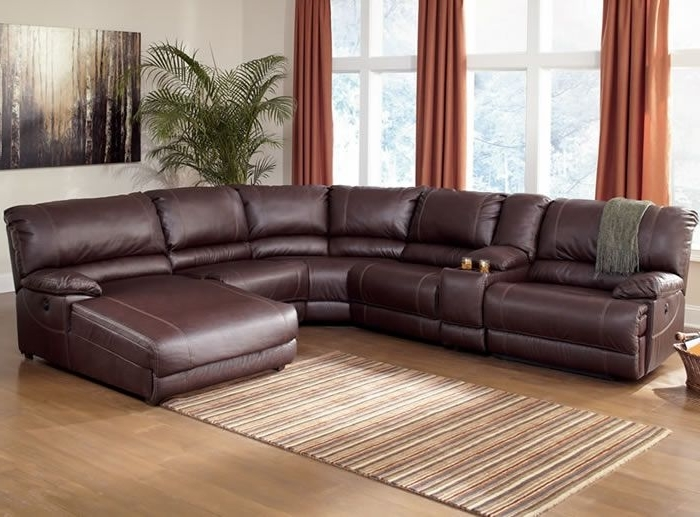 Ferrara Leather Recliner Inside Most Up To Date Leather Recliner Sectional Sofas (View 3 of 10)