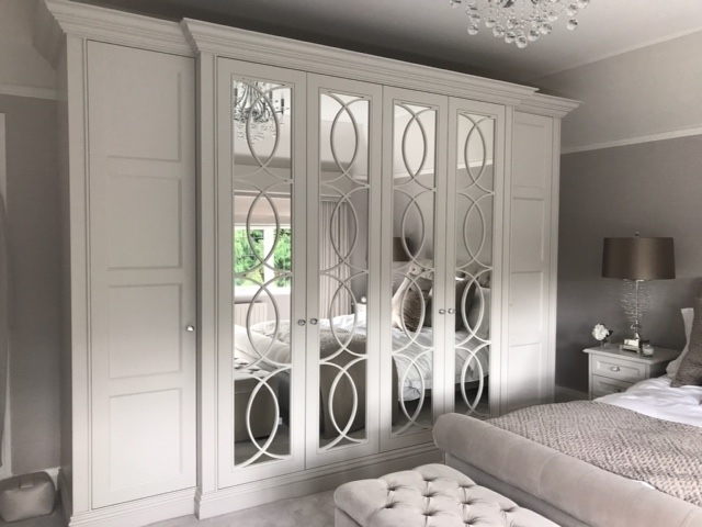 Fitted Mirrored Wardrobes – The Heritage Wardrobe Company With Regard To Preferred Mirrored Wardrobes (View 3 of 15)