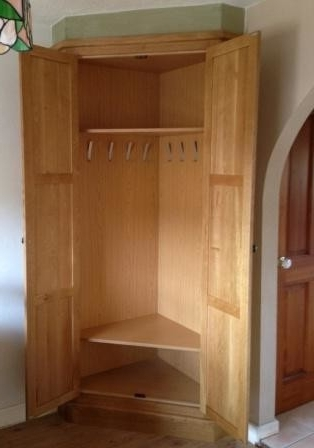 Fitted Oak Corner Storage Unit – Traditional – Closet – Other – Intended For Newest Oak Corner Wardrobes (View 5 of 15)