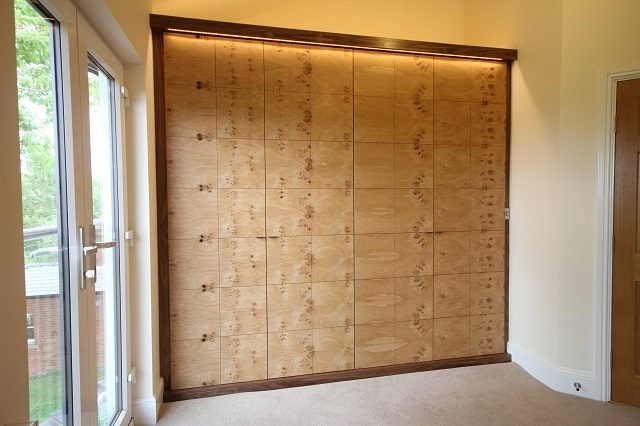 Fitted Wardrobes In Oak And Walnut (View 5 of 15)