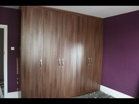 Fitted Wardrobes London – The Fitted Wardrobe Company – Dark Within Latest Walnut Wardrobes (View 6 of 15)