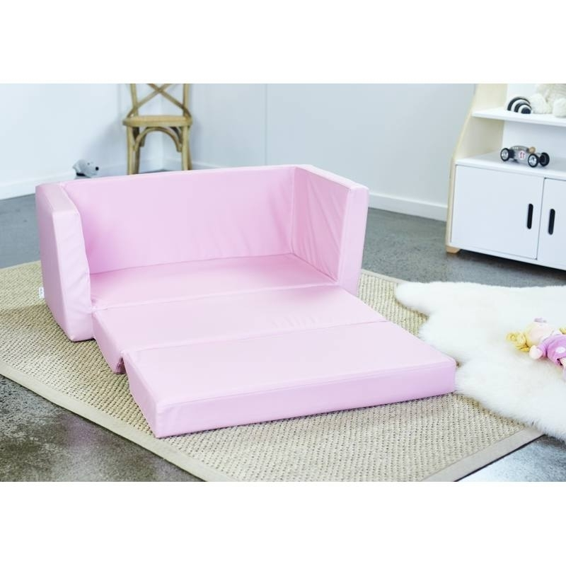 Flip Out Sofa For Kids With Regard To Well Known Kids 2 Seater Flip Out Sofahipkids (View 7 of 10)