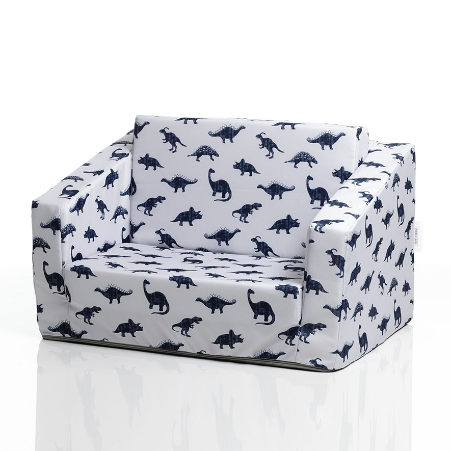 Flip Out Sofas In Trendy Adairs Kids – Flip Out Sofa Bed Dinosaurs – Home & Gifts Furniture (View 5 of 10)