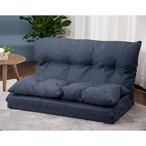 Floor Cushion Couch: Amazon Regarding Most Popular Floor Cushion Sofas (View 2 of 10)