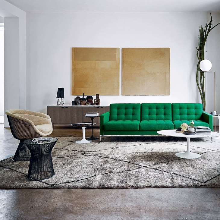 Florence Knoll Fabric Sofas Intended For Favorite Contemporary Sofa / Fabric / Leather /florence Knoll – Relax (View 5 of 10)