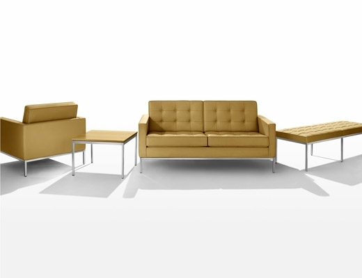 Florence Knoll Leather Sofas Pertaining To Favorite Florence Knoll Sofa And Settee (View 4 of 10)