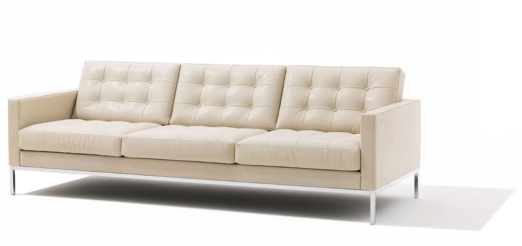 Florence Knoll Relaxed Sofa And Settee (View 7 of 10)