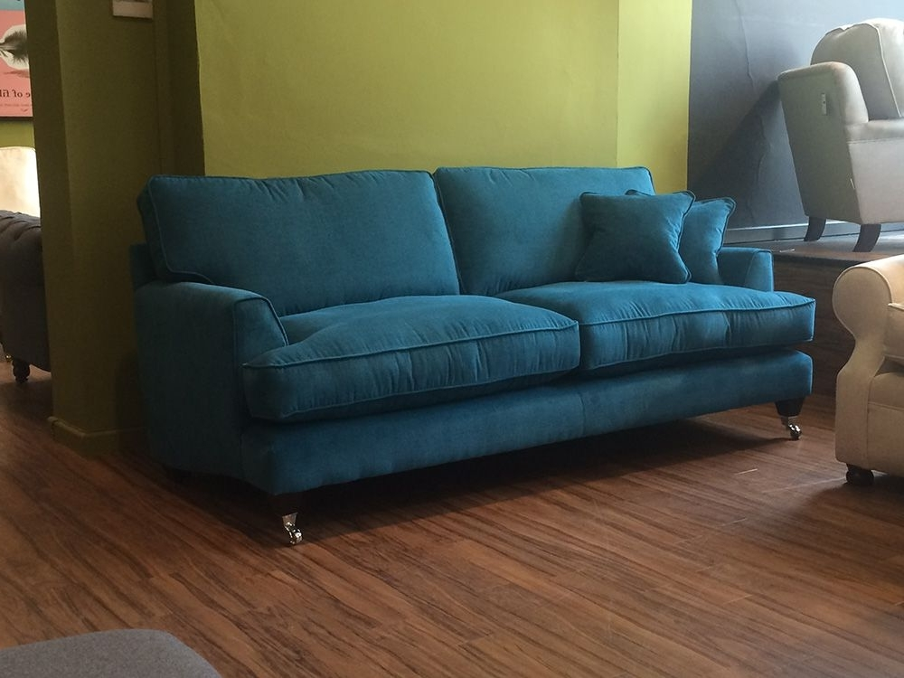 Florence Sofas Intended For Famous Florence Large Sofa In Vogue Teal Http://www (View 3 of 10)