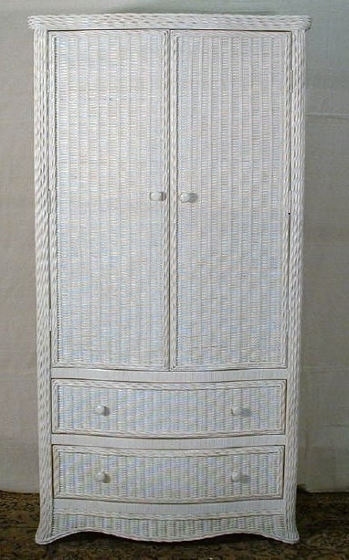 Featured Photo of White Wicker Wardrobes