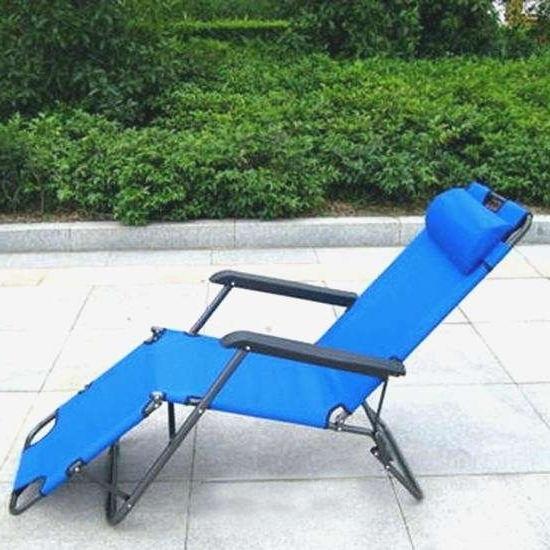 Featured Photo of Folding Chaise Lounge Chairs For Outdoor