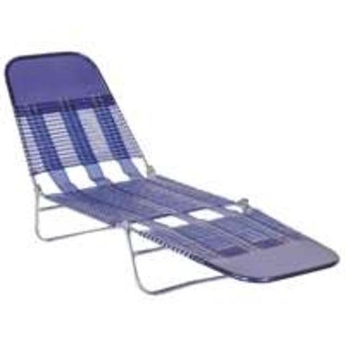 Folding Chaise Lounges Inside Preferred Amazon: Pvc Folding Chaise Royal Blue: Home & Kitchen (View 7 of 15)